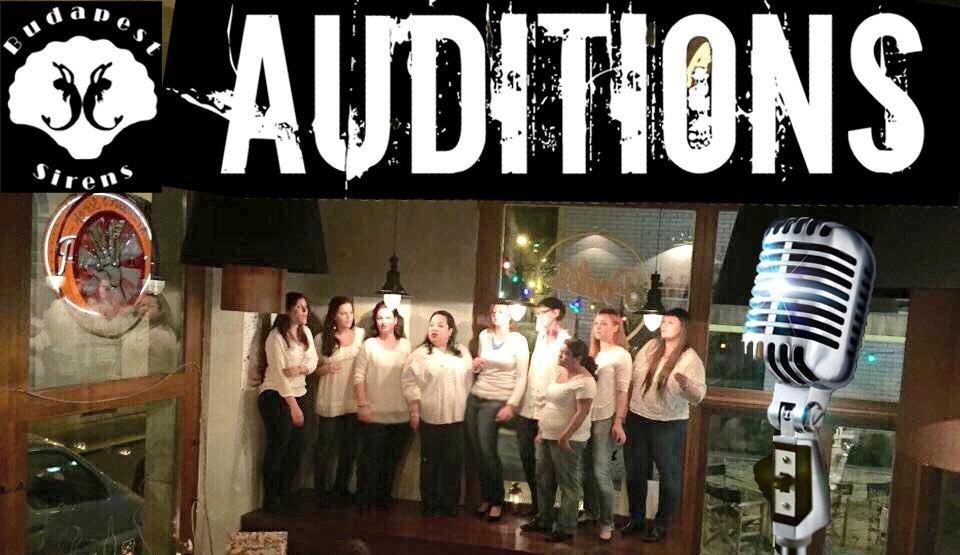 Budapest Sirens Singing Auditions, 4 January