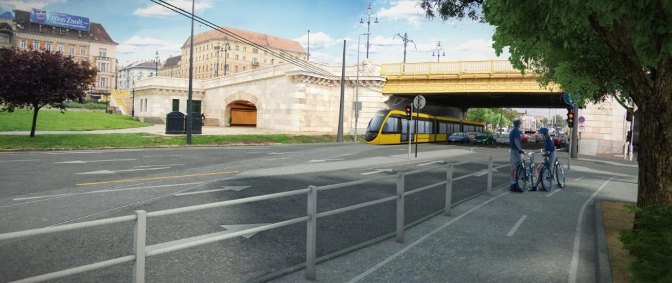 Budapest Intertwining Tram Network Completed