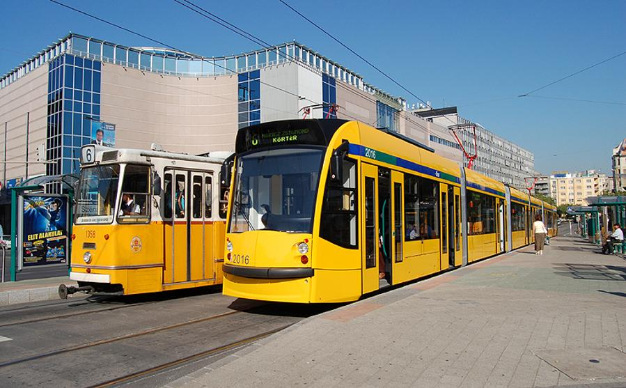 Budapest Combino Trams Equipped With CCTV