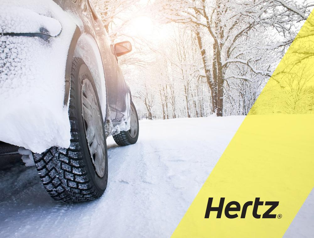 Hertz 4WD Models Prepared For The Winter