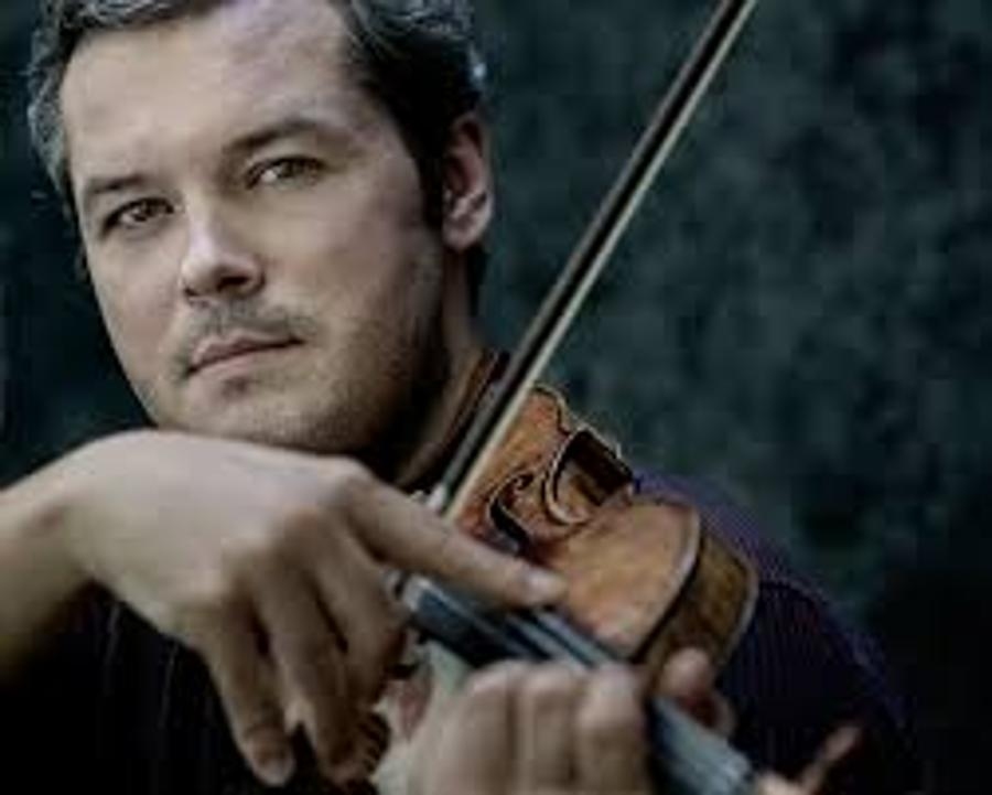 Miracle On Violin In The Palace Of Arts In Budapest, 2 February