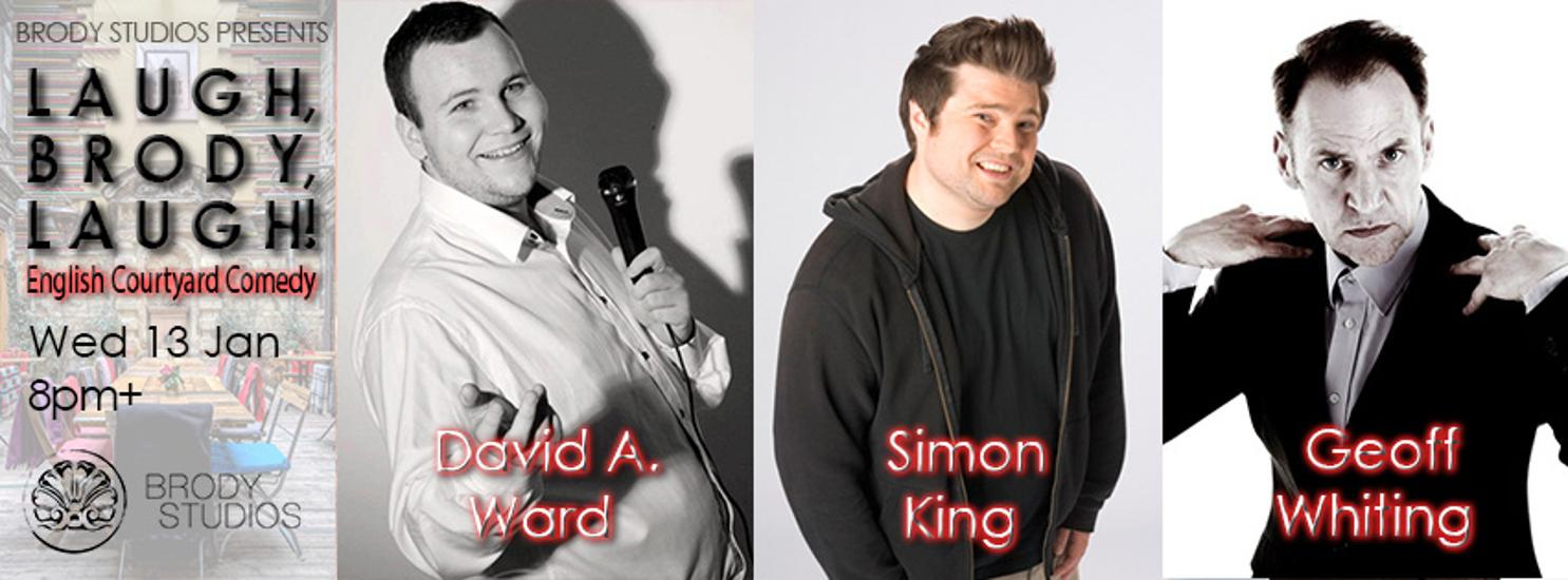Stand-Up Comedy @ Brody Studios Budapest, 13 January