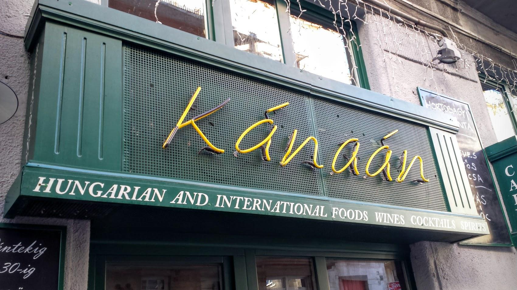 Restaurant Review: A Tasty Land Of Plenty At Kánaán In Budapest