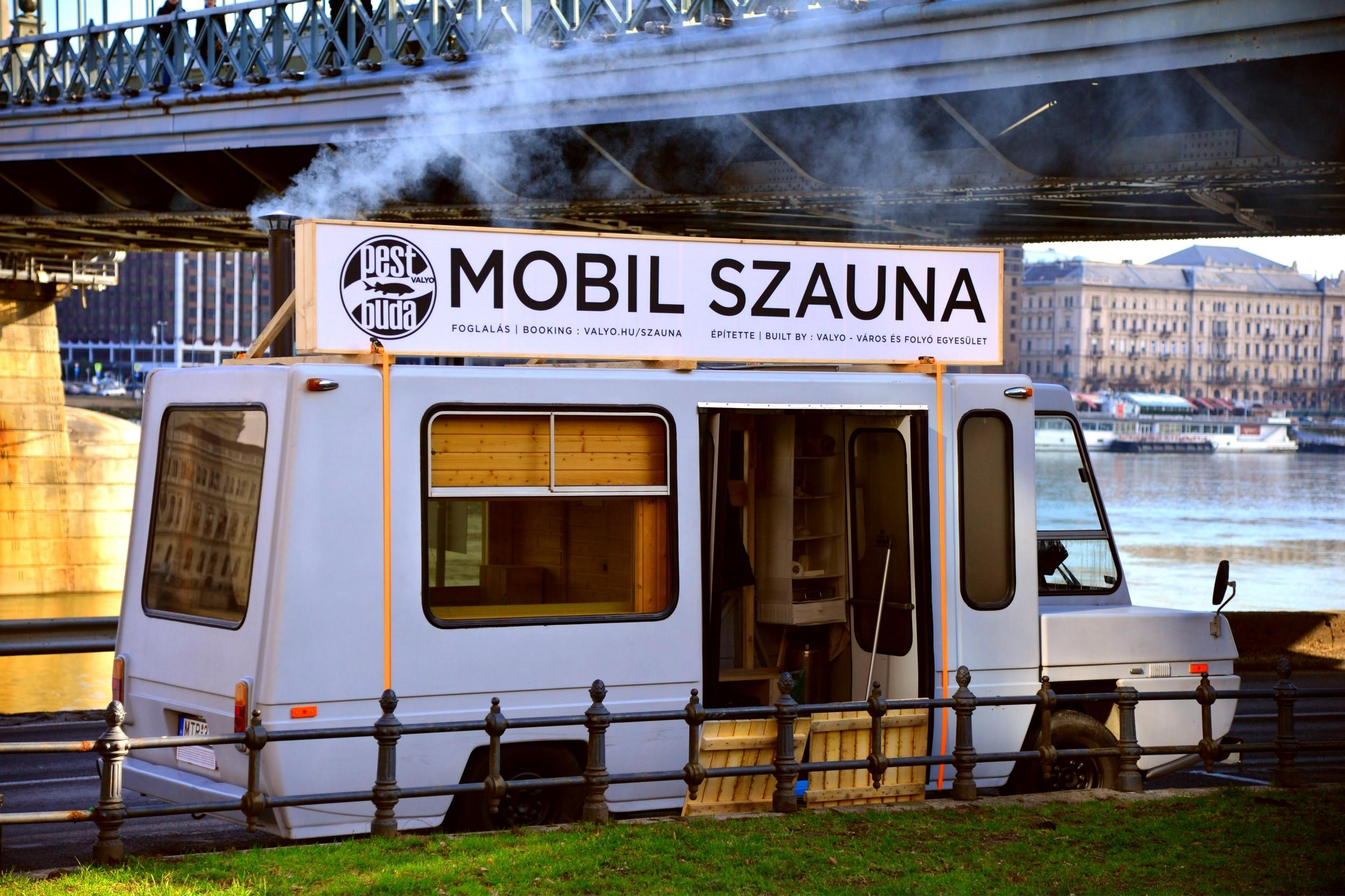 Video Report: Budapest's Mobile Sauna With A View