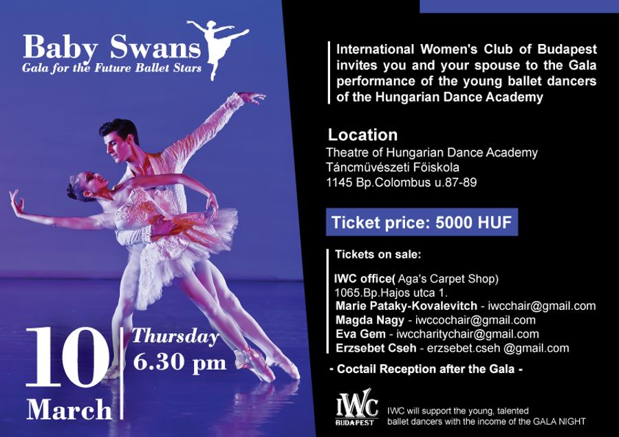 IWC Budapest Event: Spring Gala, 10 March