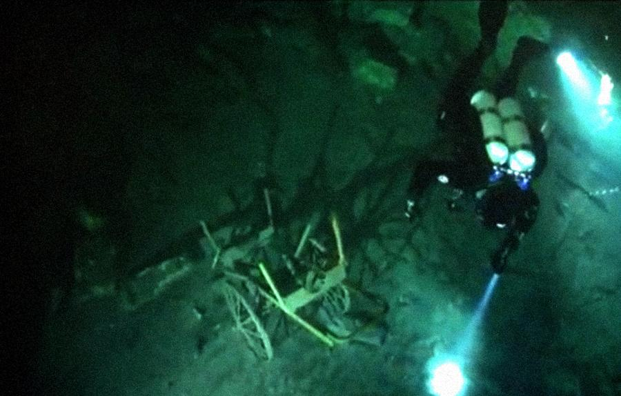 "Diving In The Flooded Cellars Of ""Kőbánya"""