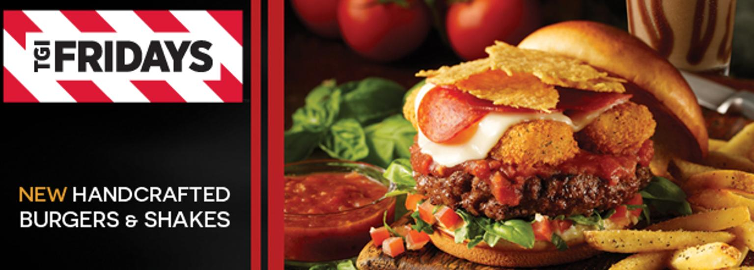 Burgers That Rock In TGI Friday's