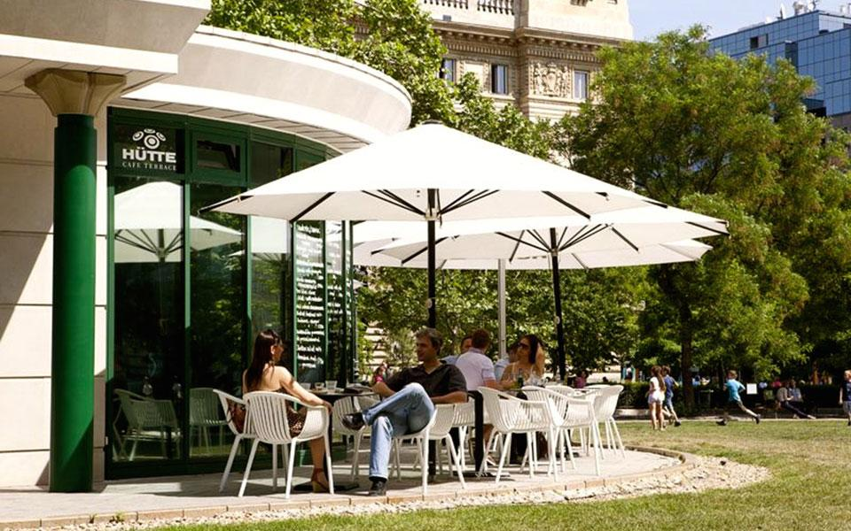 Best Café Terraces In Budapest