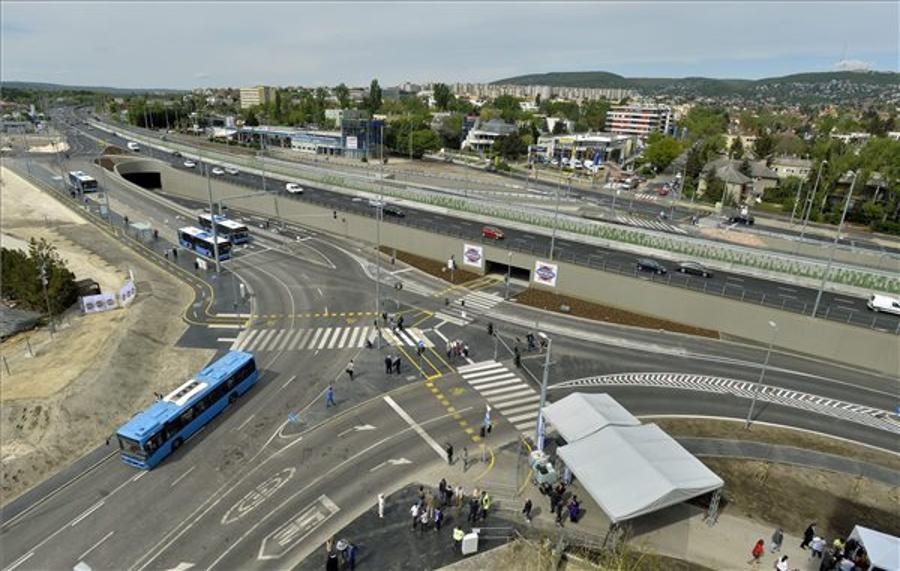 Budapest Road Transport Hub Opens