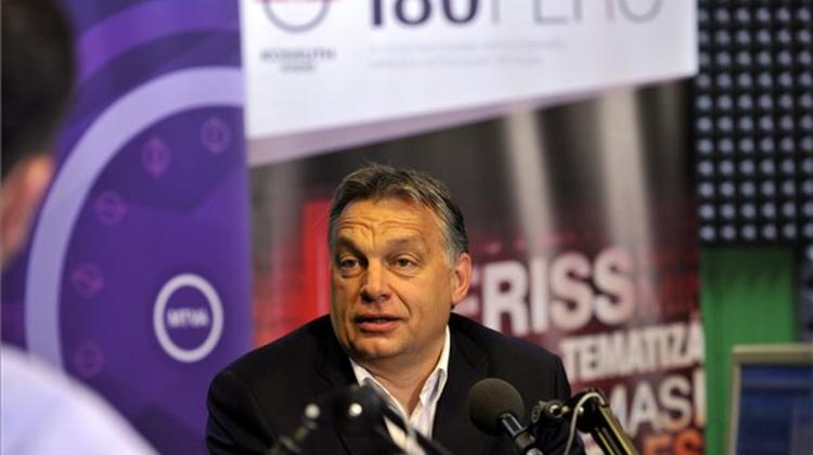 Orbán: Hungary Experiencing Economic Boom