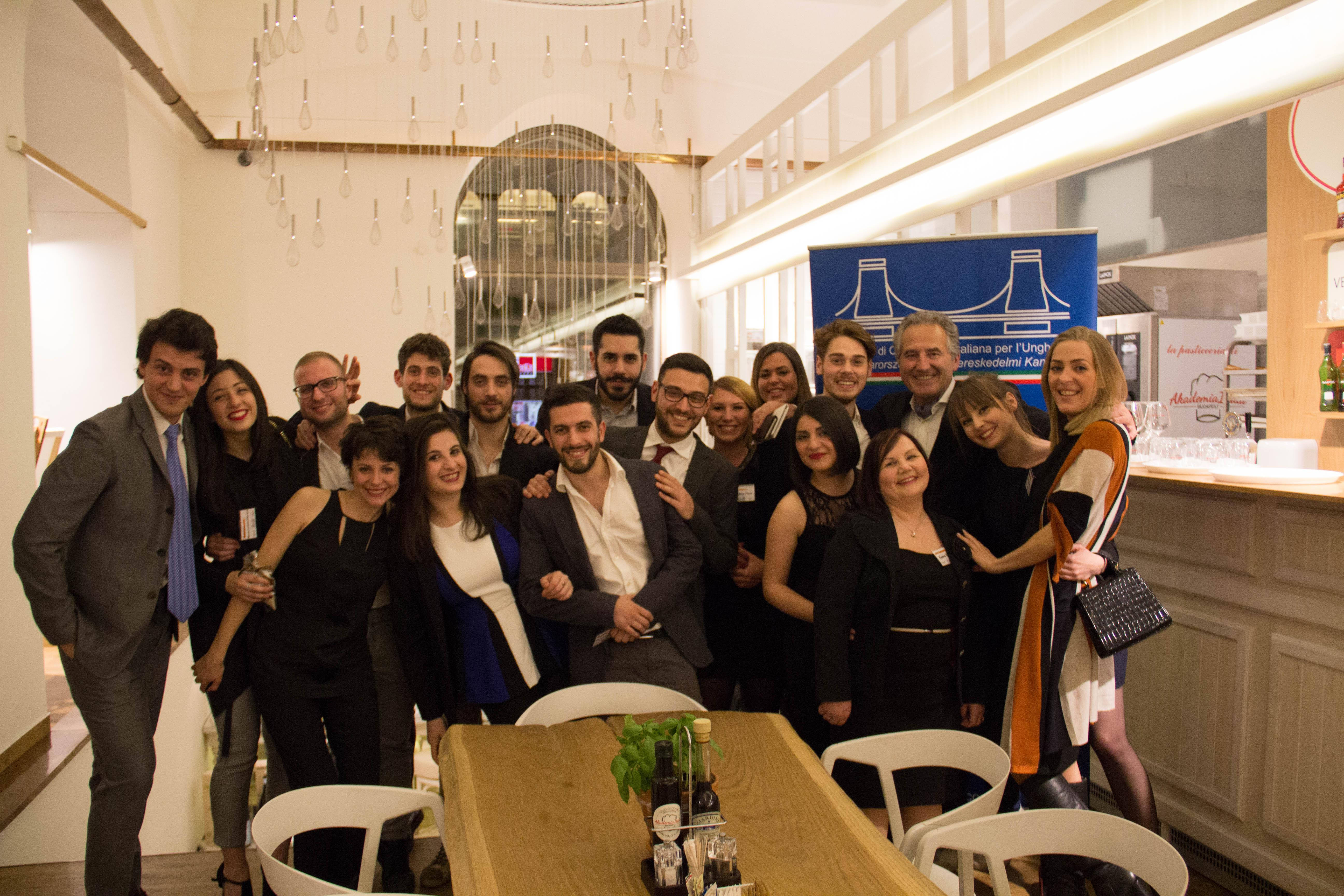 Xpat Report: The First Business Aperitif Of The Italian Chamber Of Commerce