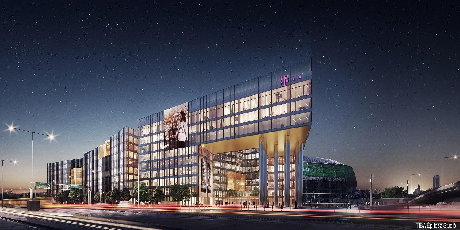 Construction Begins On Magyar Telekom Headquarters Building