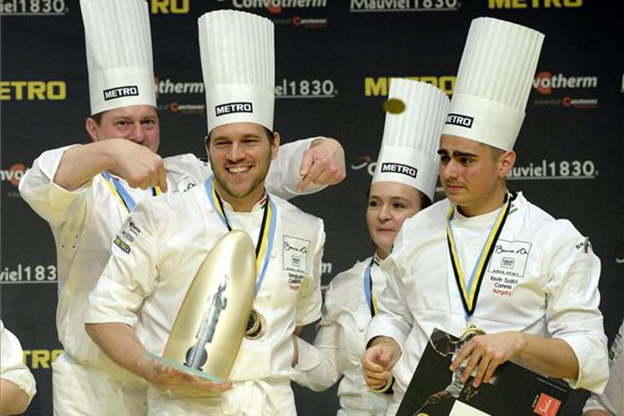 Bocuse d'Or: Hungarian Crowned Best European Chef