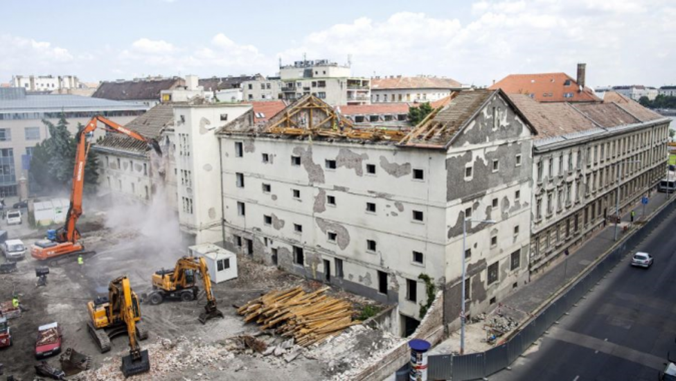 The Destruction Of Historic Buildings In Hungary's Capital