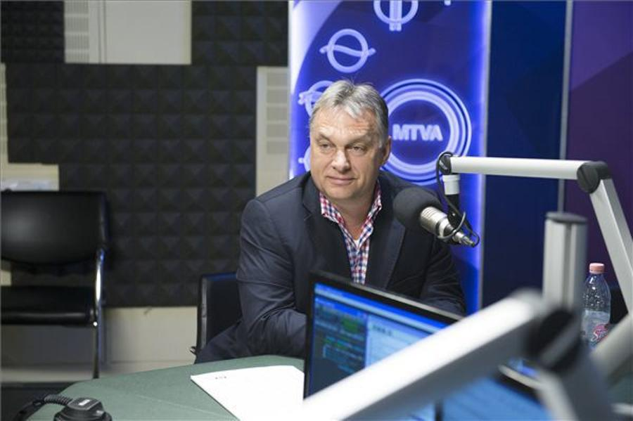 Hungary's PM Orbán: European Leaders Are Going Against The People