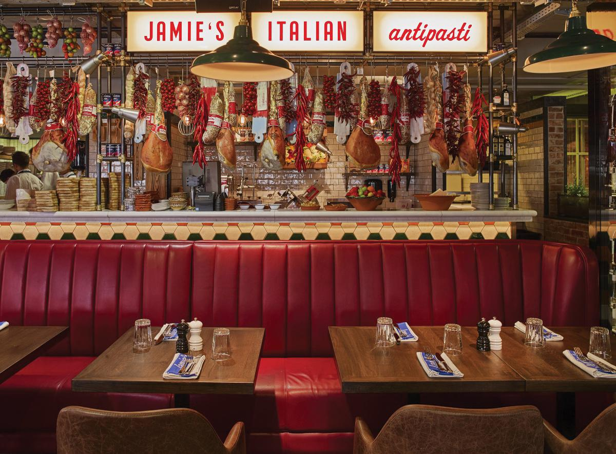 Restaurant Review: Jamie's Italian