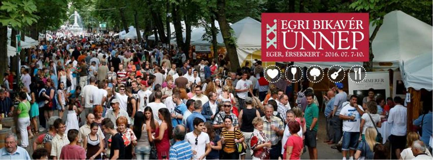 'Bull's Blood Festival', Eger,  7 - 10 July