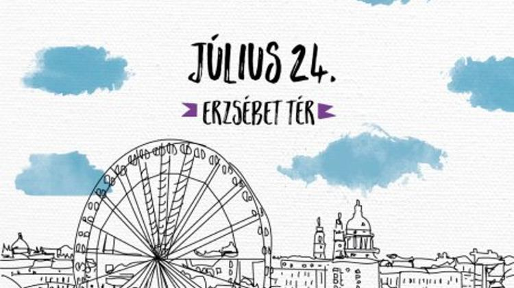 WAMP Design Fair, Erzsébet Square, 24 July