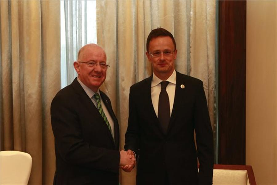 Szijjártó Holds Bilateral Talks At Asia - Europe Summit