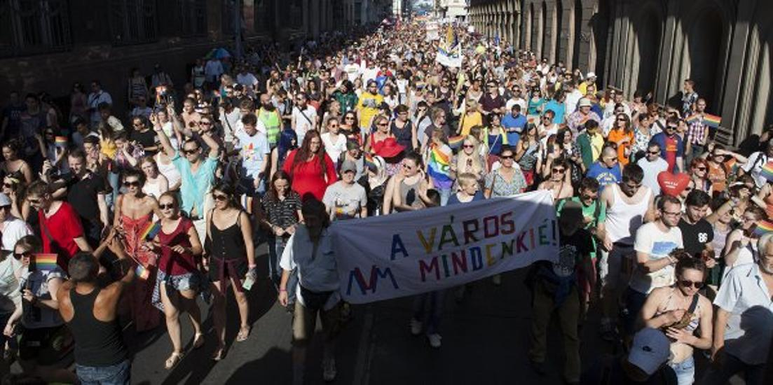 21st Budapest Pride March Held