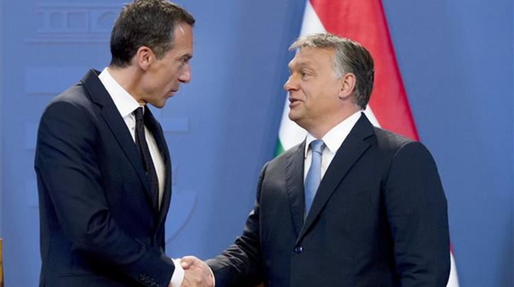 PM: Austria Benefits From Hungary's Border Policy