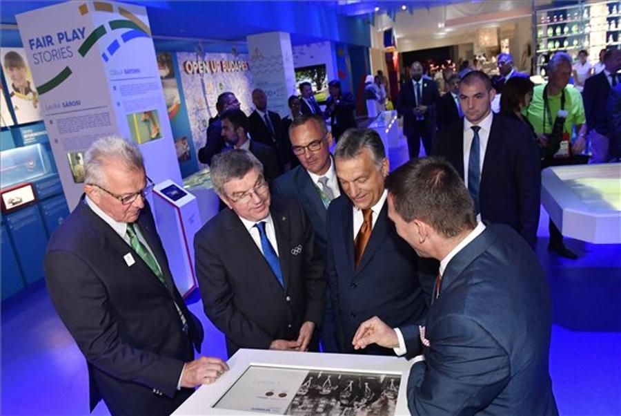Hungarian Prime Minister Orbán Meets IOC Chief In Rio