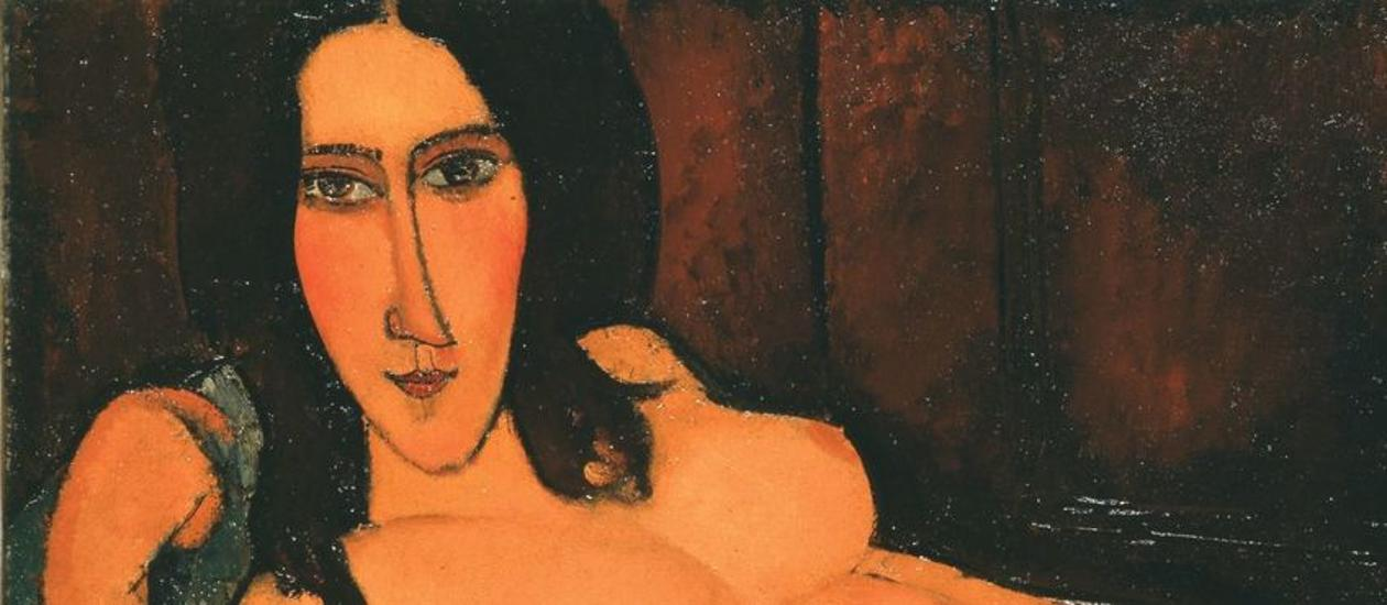 Modigliani Nudes & Sculptures Exhibition, National Gallery, Now On Until 2 October