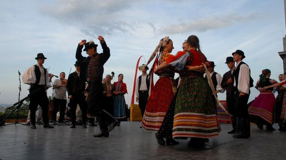 Festival Of Folk Arts, Buda Castle, 18 - 21 August