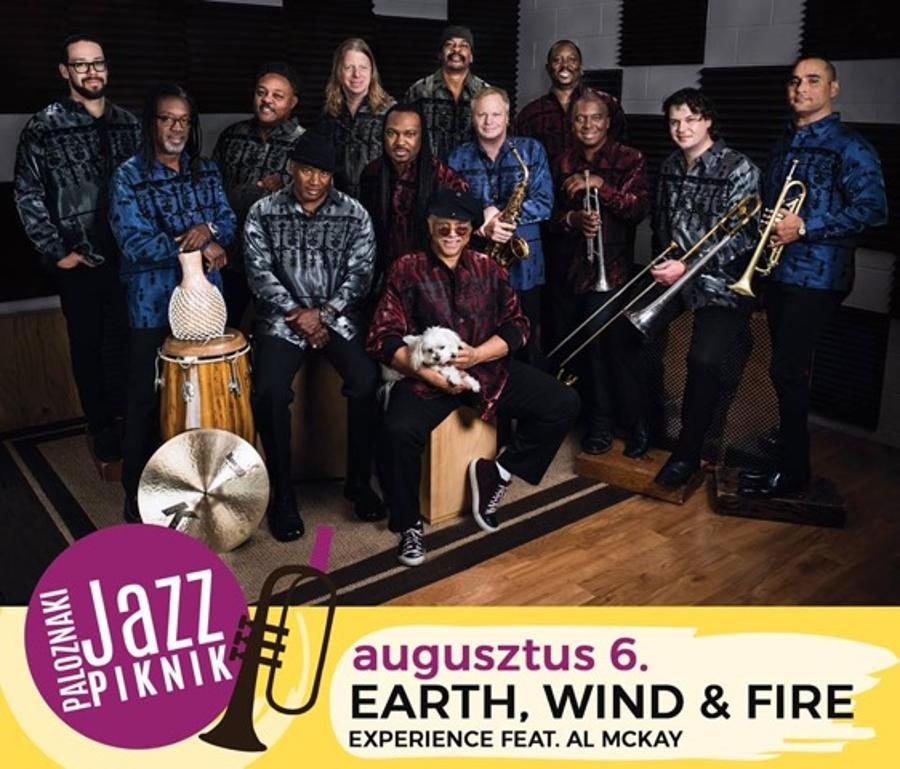 St Germain, Incognito, Earth, Wind & Fire @ Paloznak Jazz Picnic, 1 - 6 August