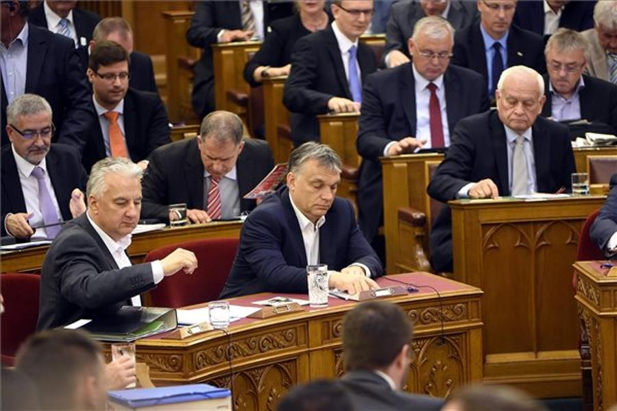 MPs Hold Group Meetings Before Start Of Parliament's Autumn Session