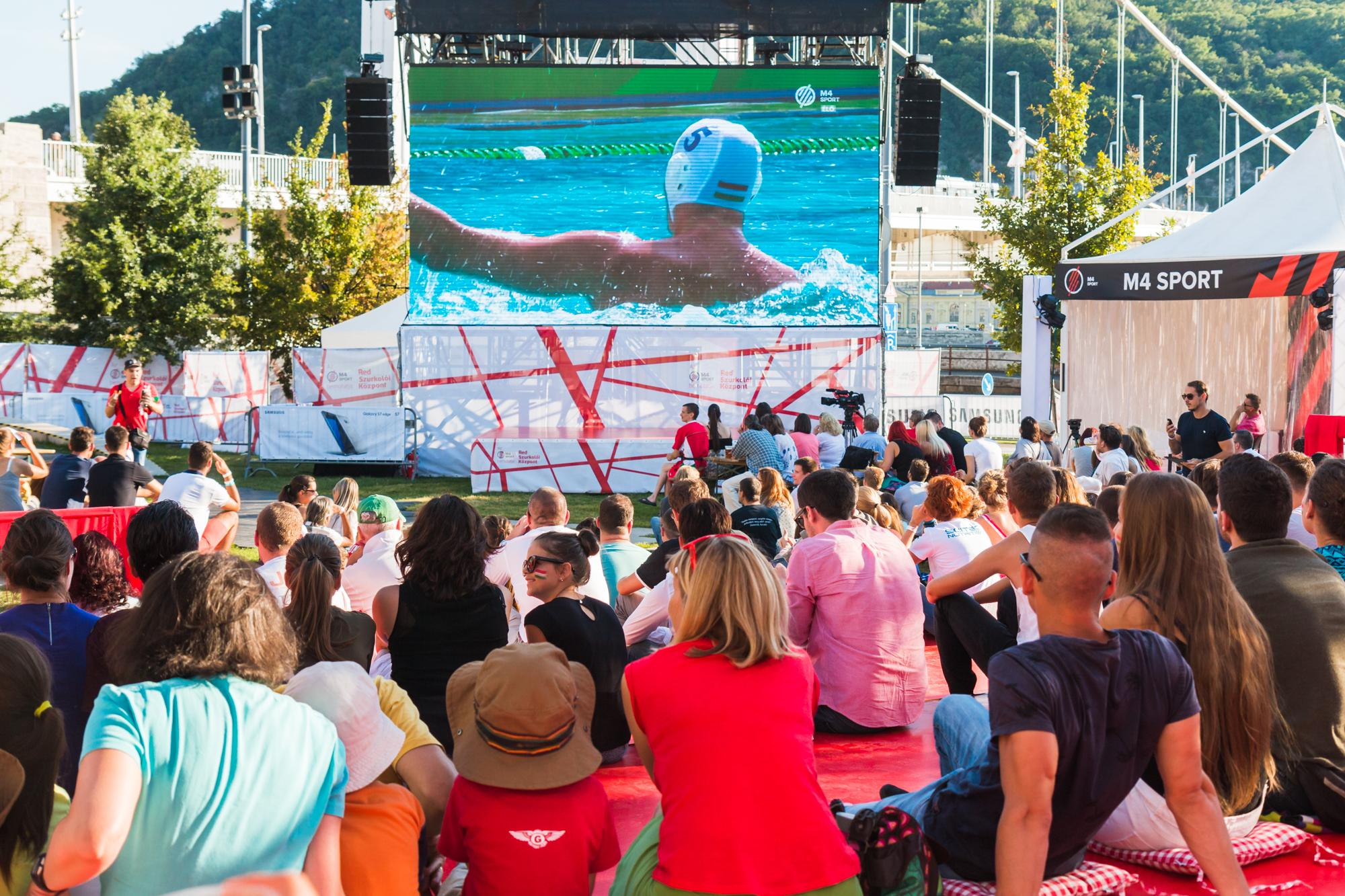 Free Entry To Budapest's Olympics Fan Centre