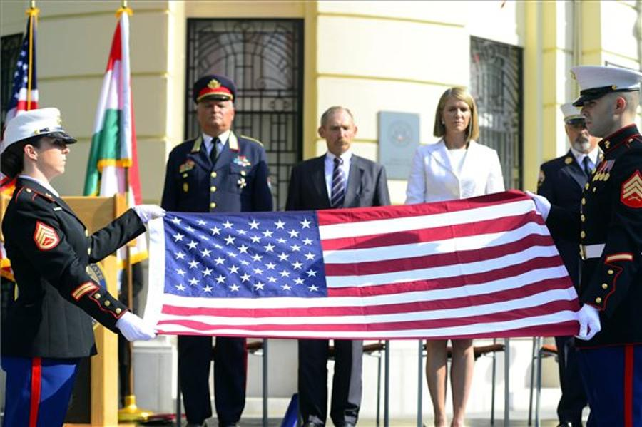 Sept. 11 Terrorist Attacks Commemorated In Budapest