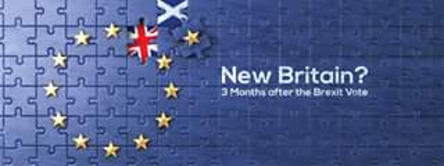 New Britain: 3 Months After The Brexit Vote, AJKC Conference Room, 20 September