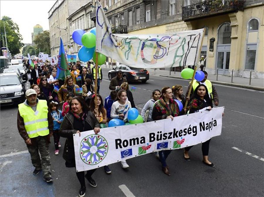 Roma Pride March Held In Budapest