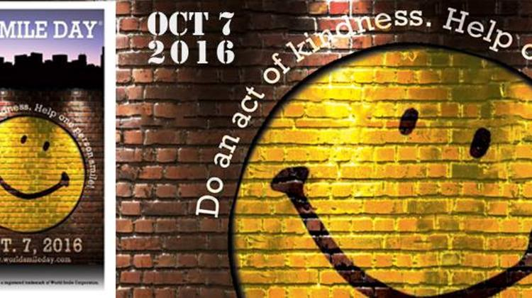 World Smile Day, 7 October