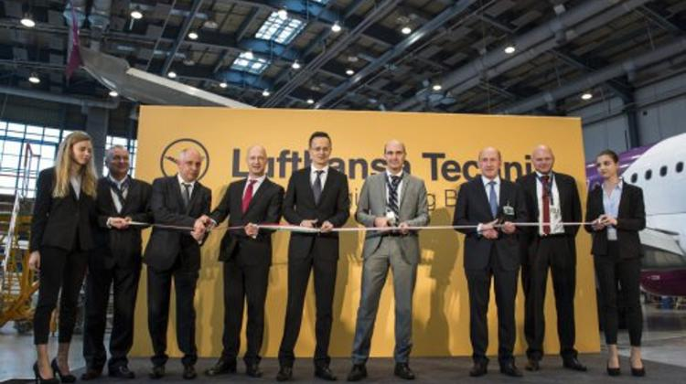 Lufthansa Expands Aircraft Center In Budapest