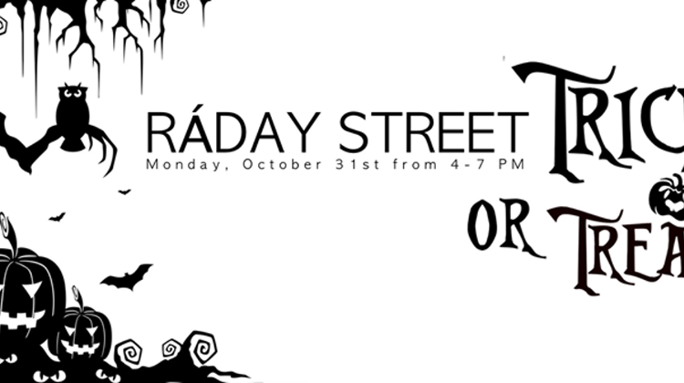 Active8 Ráday Street Trick Or Treat, 31 Oct