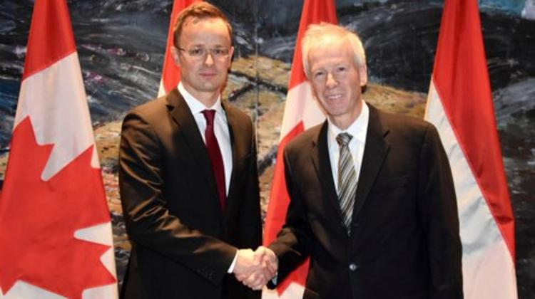 Signing Of Free Trade Agreement Between EU & Canada Is In Hungary's Interests