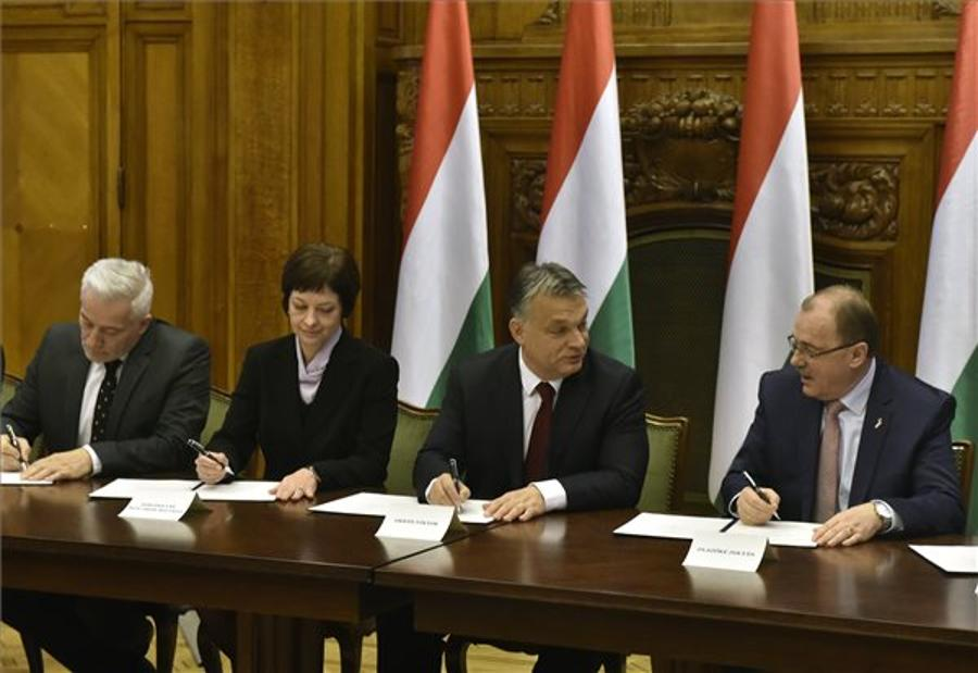 Orbán: Wage Deal Result Of Hard Work