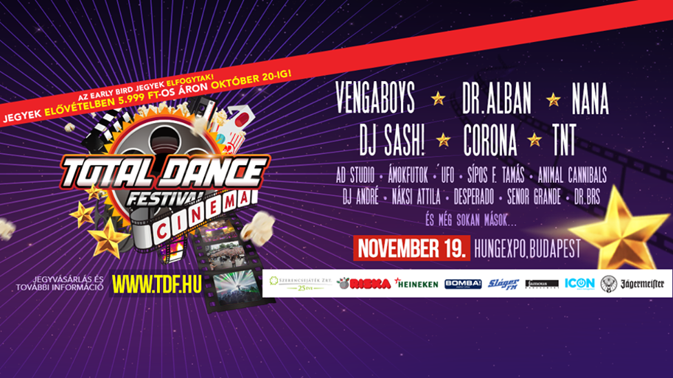 Total Dance Festival, Hungexpo, 19 November