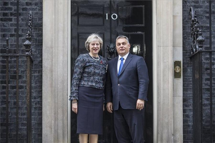 Orbán Defends Hungarians In UK