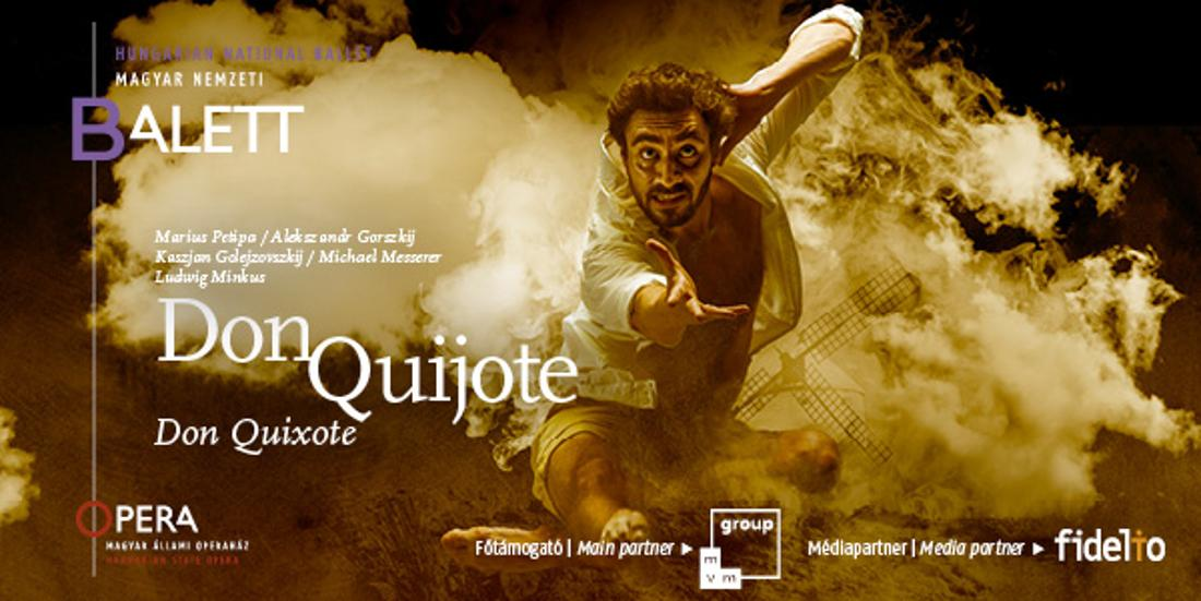 Don Quixote: Hungarian National Ballet Premiere, 19 November