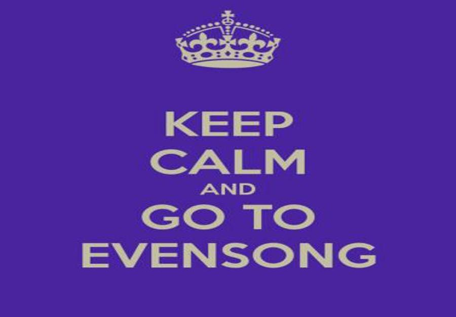 Advent Evensong, Fasori Church, 26 November