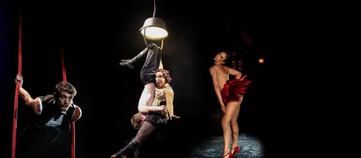 Recirquel Contemporary Circus Company: Paris de Nuit, Mupa, 28 December