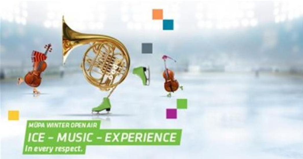 Müpa Winter Open Air: Ice – Music – Experience