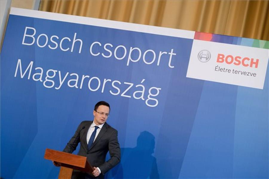 Bosch's North Hungary Logistics Centre To Create 250 Jobs