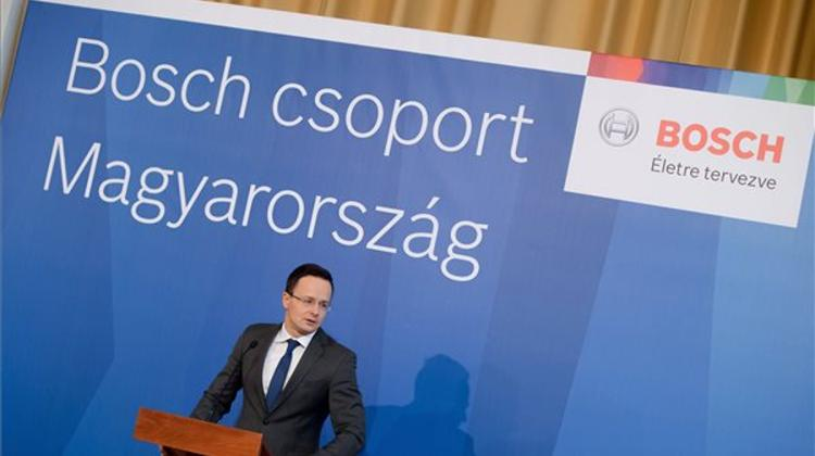 Bosch's North Hungary Logistics Centre To Create 250 Jobs - XpatLoop com