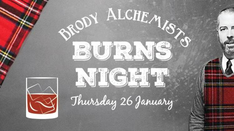 Alchemists Burns Night @ Brody Studios, 26 January