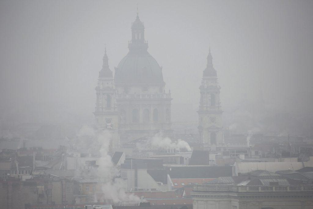 Budapest Smog Alert Withdrawn