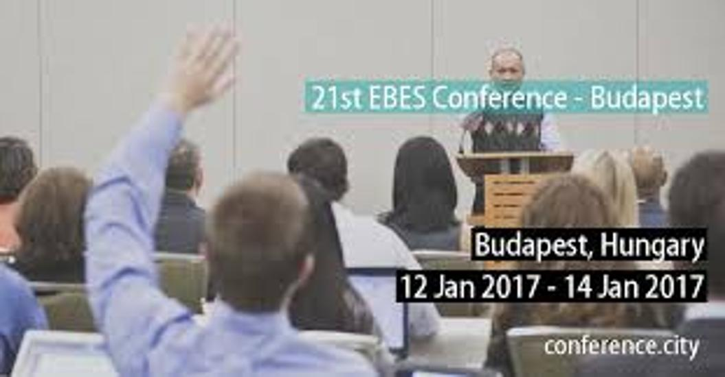 Call For Papers - 21st EBES Conference, 12 January